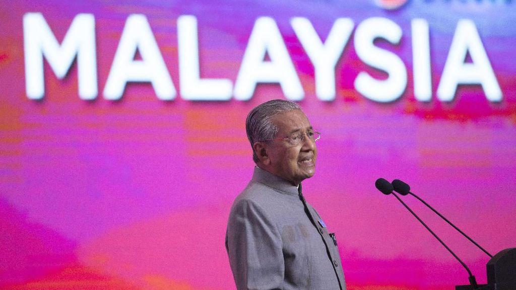 Twitter Hapus Cuitannya, Ini Kata Mahathir Mohamad