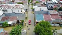 BNPB: Drainase Buruk Penyebab Banjir di Perumahan Harapan Indah Bekasi