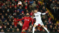 Babak Pertama Seru, Liverpool Vs West Ham 1-1