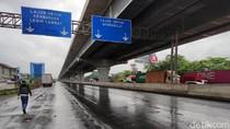 Sempat Terendam Banjir, Tol Jagorawi dan Cikampek Sudah Beroperasi Normal