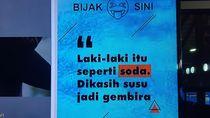 Viral Tulisan Becanda Soda Susu di Terminal 2 Bandara Soekarno Hatta
