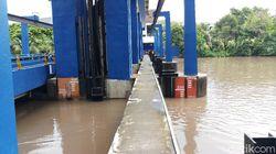 Pintu Air Pasar Ikan Siaga 2, Warga Pluit-Ancol Diminta Waspada