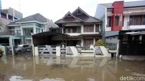Kompleks Elite di Bekasi Ini Turut Terendam Banjir