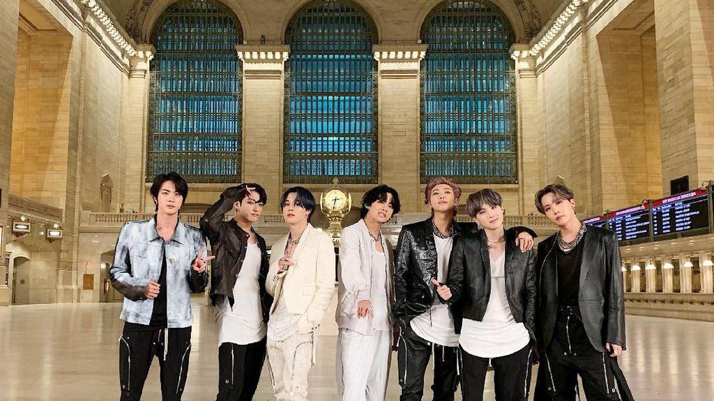 Hiks! 4 Konser BTS di Seoul Batal karena Virus Corona