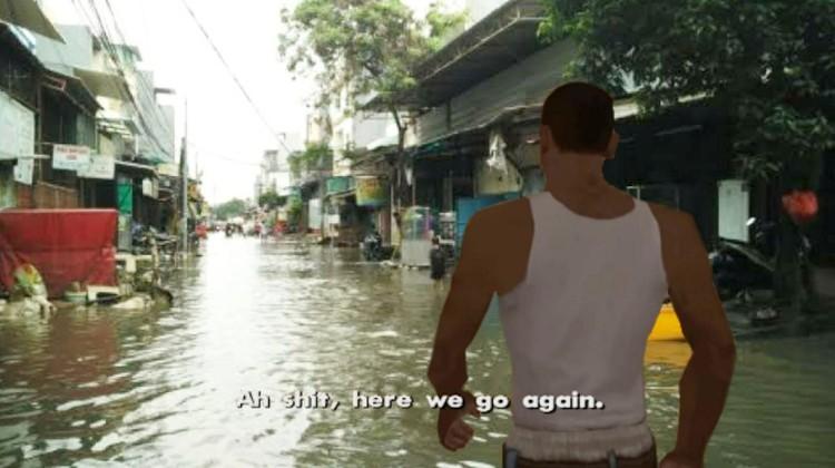 meme banjir