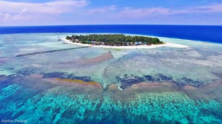 Pulau Salissingan di Kalimantan Timur