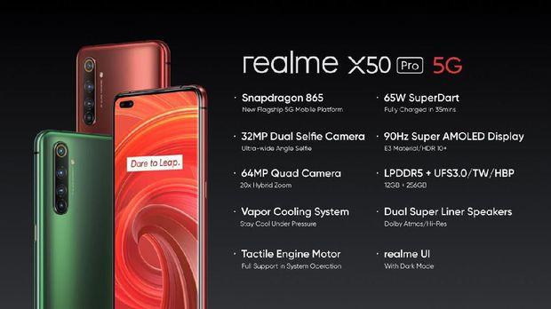 Realme X50 Pro 5G.