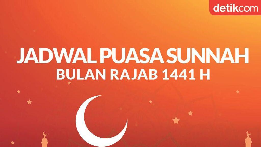 Jadwal Puasa Sunah Bulan Rajab 1441 H