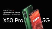 Realme Rilis X50 Pro 5G, Ponsel Flagship Spek Sangar