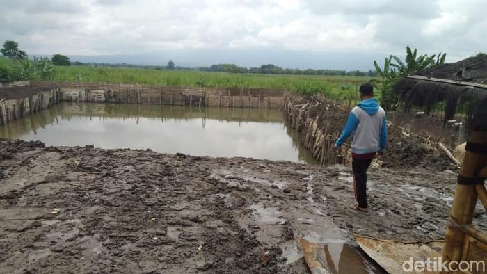 Kolam Pancing Ganggu Kajian Situs Petirtaan Suci Majapahit di Jombang