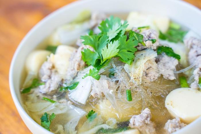 sup tofu ayam cincang