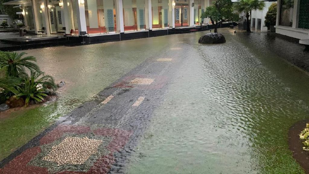 Istana Kebanjiran di Era Anies, Terjadi Juga Saat Jokowi-Ahok Memimpin