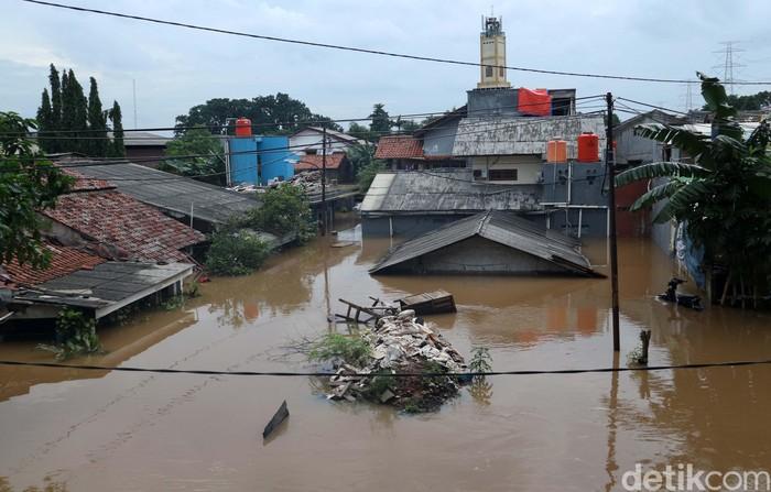 Banjir dengan ketinggian 3 meter di titik terendahnya terjadi di Cipinang Melayu, Jakarta. Begini kondisi terkini di Cipinang Melayu.