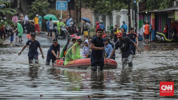 DPR Gelar Rapat Soal Banjir, 3 Gubernur Tak Hadir