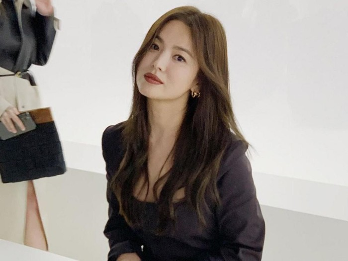 Song Hye Kyo di Milan Fashion Week