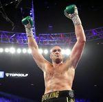 Menanti Duel Tyson Fury Vs Anthony Joshua