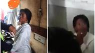 Dituding Penculik, Perempuan Ini Santuy Saat Diinterogasi Warga di Sukabumi