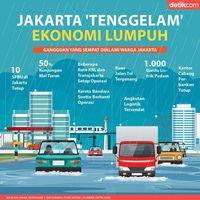 Jakarta 'Tenggelam', Ekonomi Lumpuh