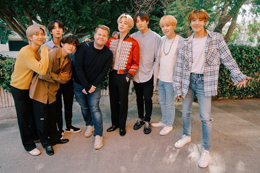 BTS dan James Corden
