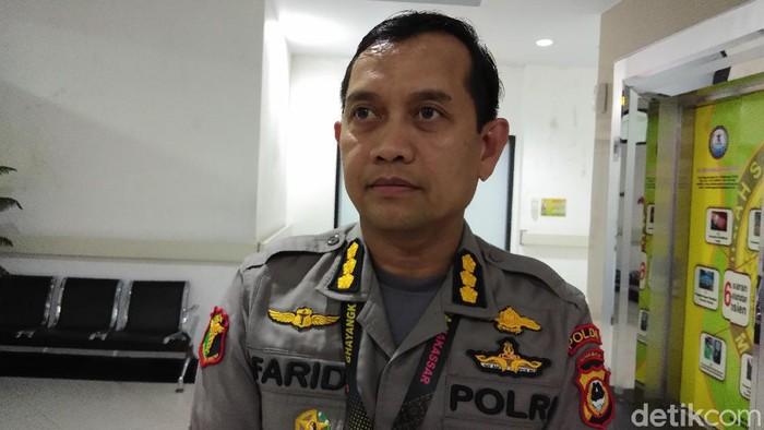 Karumkit RS Bhayangkara Polda Sulsel Kombes dr Farid Amansyah (Hermawan Mappiwali/detikcom)