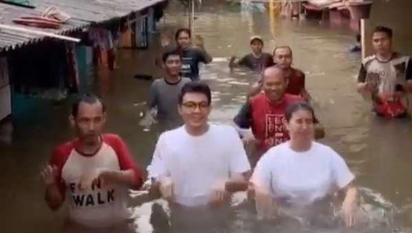 Cerita Tya Ariestya soal Video TikTok kala Banjir