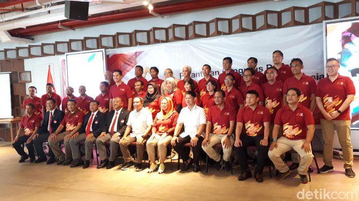 Yenny Wahid dilantik sebagai Ketua Umum Federasi Panjat Tebing Indonesia (FPTI).