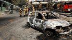 Ngeri! Mobil hingga Traktor Jadi Korban Kerusuhan di India