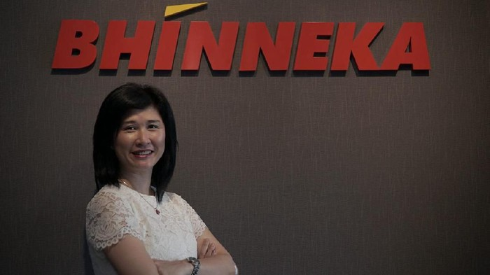 Vensia Tjhin, Chief of Commercial & Omnichannel Bhinneka