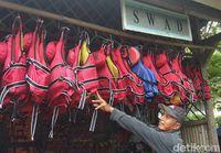 Wisata tubing bisa tetap aman dilakukan di musim penghujan