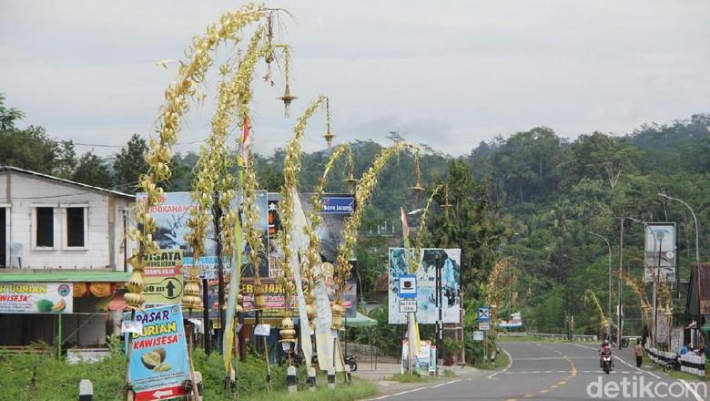 janur kuning di Banjarnegara