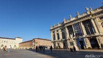 Warga Antisipasi Corona, Kota Turin Italia Jadi Sepi