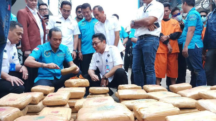 BNN ungkap penyelundupan ganja dari Aceh
