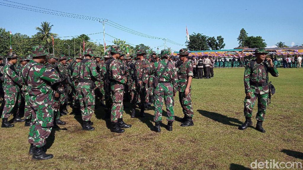 TNI-Polri Jaga Ketat DPRD Mimika Jelang Pelantikan Ketua DPRD Definitif