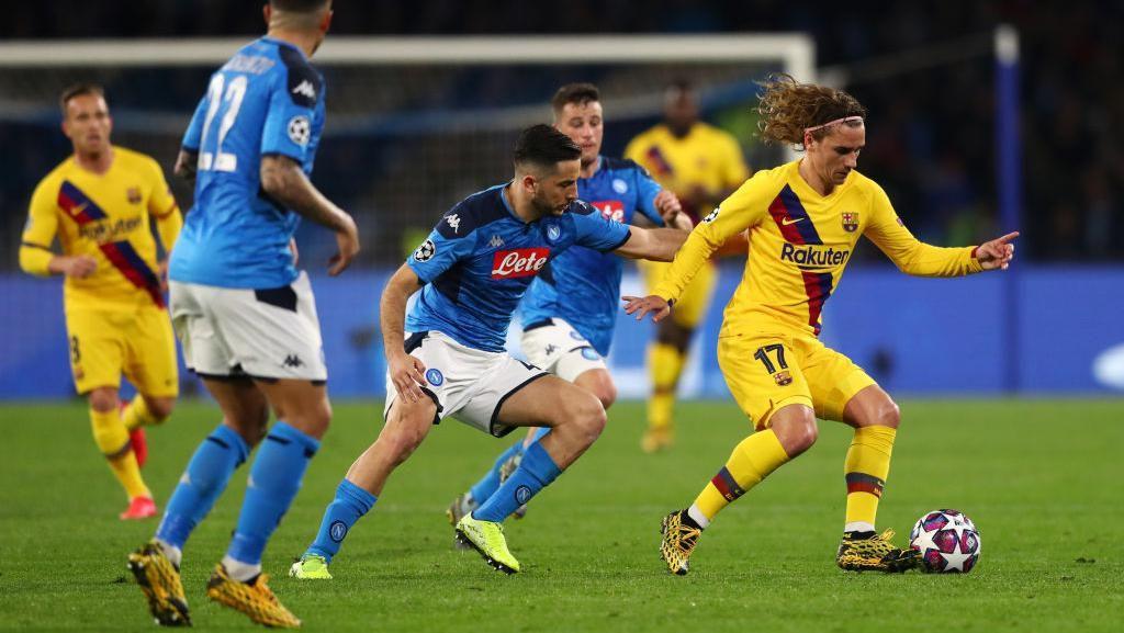 Napoli Vs Barcelona: Satu Kartu Merah, Skor 1-1, Ini Videonya
