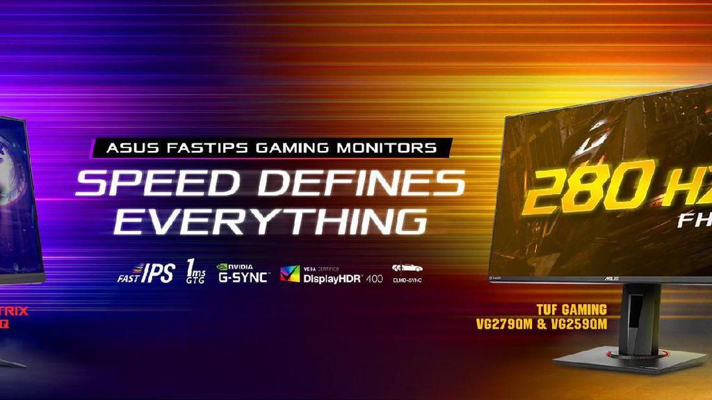 Asus Rilis Tiga Monitor Gaming, Diklaim Tercepat di Dunia