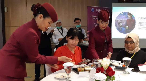 Melongok Dapur Qatar Airways di Bandara Soekarno Hatta