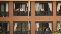Ada 1 Orang Positif Corona, Ribuan Tamu Hotel di Spanyol Dikarantina