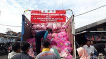 7 Ton Bawang Putih Murah Dijual di Pasar Soreang Bandung