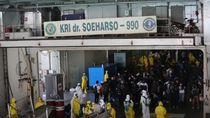 188 WNI ABK World Dream Sudah di KRI Soeharso, Dievakuasi ke Pulau Sebaru