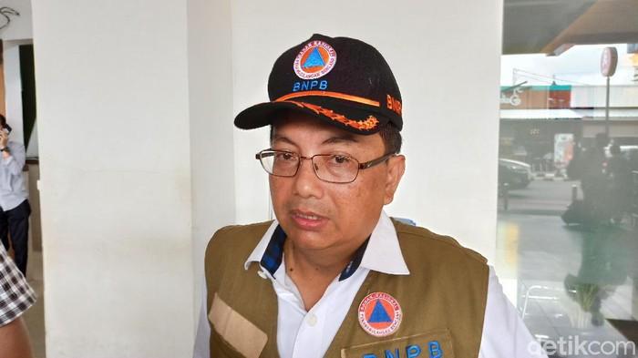 Direktur Pengelolaan Logistik dan Peralatan Badan Nasional Penanggulangan Bencana (BNPB) Rustian