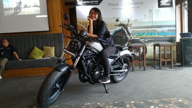 Honda Rebel sapa Jawa Tengah