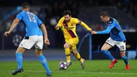 Jelang Barcelona Vs Napoli, Ini Rekor Lionel Messi Lawan Tim Italia