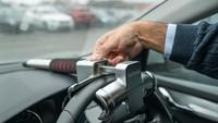 Dijual Sejutaan, Kunci Setir Mobil Makin Aman Pakai Fingerprint