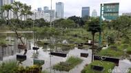 Waduh! Banjir Masih Rendam TPU Karet Bivak