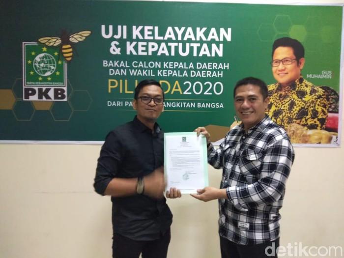 Deng Ical didukung PKB maju Pilwalkot Makassar 2020.