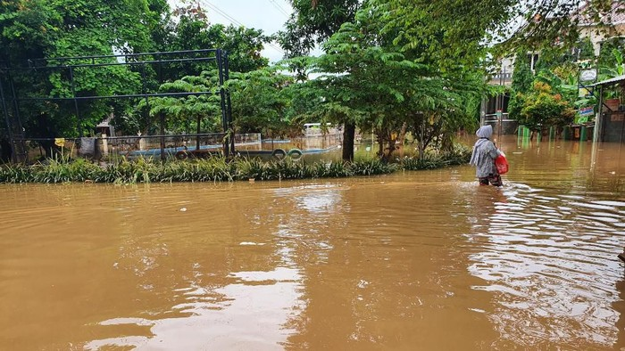 Banjir di Perumahan Bumi Nasio Indah Bekasi