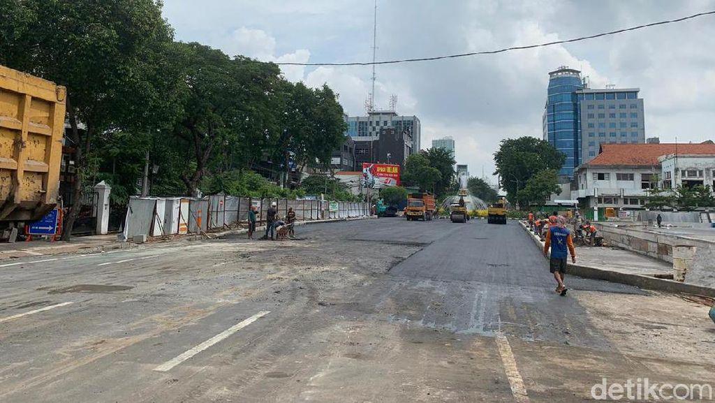Jalan Yos Sudarso Surabaya Bakal Dibuka Separuh Mulai 1 Maret