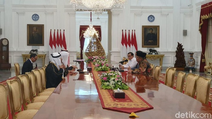 Presiden Joko Widodo bertemu Sekjen Liga Muslim Dunia