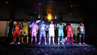 Liga 1 2020: Persita Rilis Tim, Jersey, Maskot, dan Logo