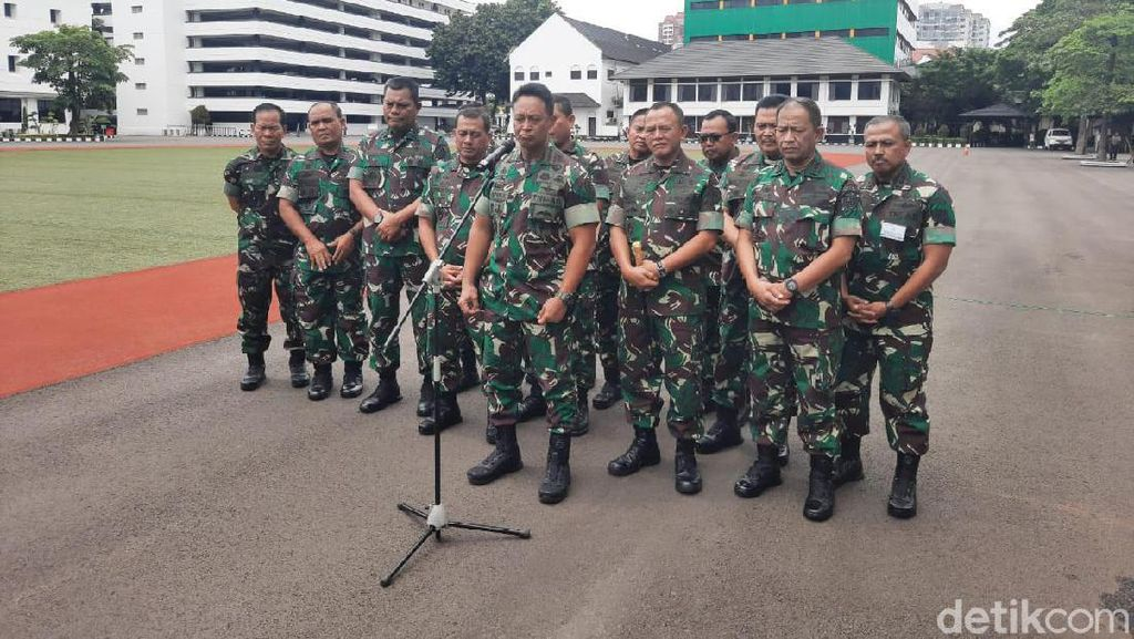 Reorganisasi di TNI AD, KSAD Pastikan Semua Perwira Tinggi Punya Jabatan